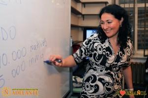 Открытый урок с Клаудией Альварес