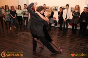 Мастер-класс по танго от школы Tangomania
