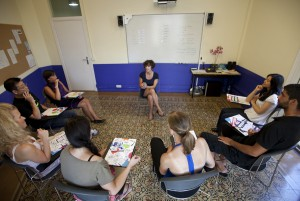 Урок в школе Barcelona IH
