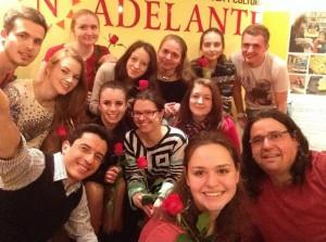 club de amigos selfie