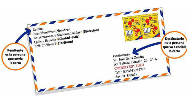 Cómo-poner-remitente-destinatario-carta